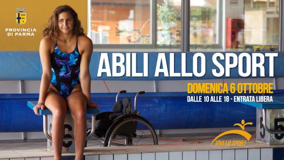 """Giulia Ghiretti, testimonial della giornata """"Abili allo Sport"""""""