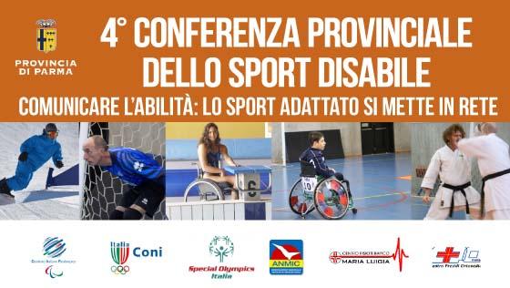 4° Conferenza provinciale dello sport disabile