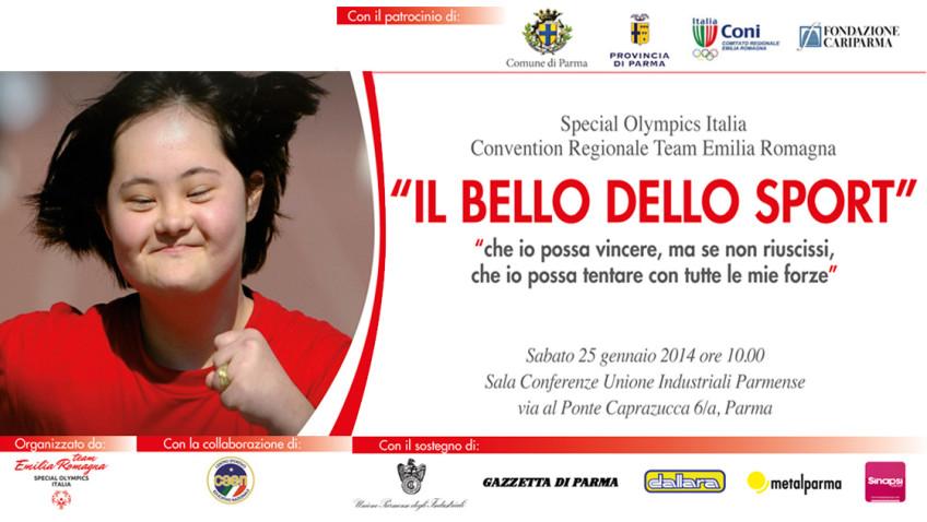 """Convention Regionale """"Il bello dello sport"""""""