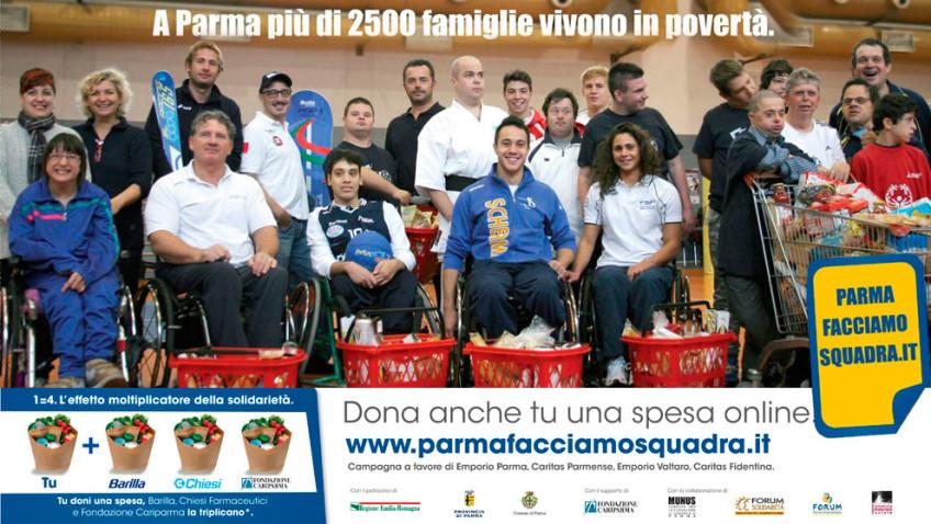 Gli atleti degli sport adattati, per Parmafacciamosquadra.