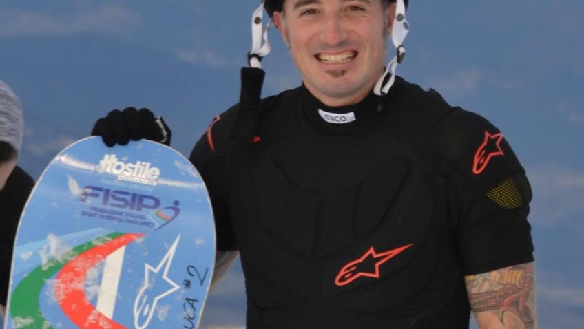 Luca Righetti verso le Paralimpiadi: «Spero di salutarvi in diretta il 7 marzo da Sochi…»