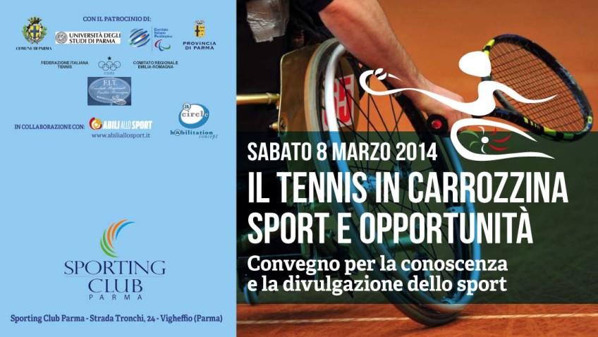 Tennis in carrozzina: la racchetta in una mano, il mondo nell'altra