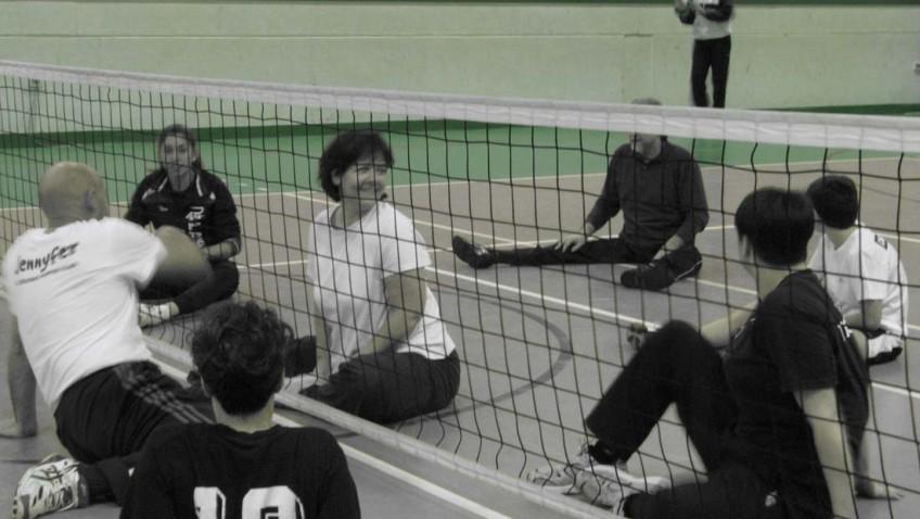 "Manuela e il sitting volley: ""Per terra si è tutti uguali"""