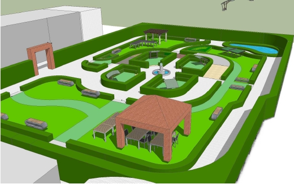 Inaugurazione del Giardino Riabilitativo dell'Ospedale Maggiore