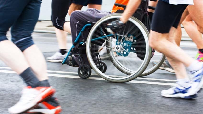 Tavolo Sport Disabile