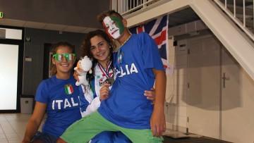 Debutto europeo d'argento per Giulia Ghiretti