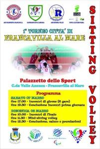 Sitting Volley - 1° Torneo Franca Villa al Mare @ Palazzetto dello sport | Francavilla al Mare | Abruzzo | Italia