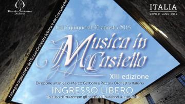 Musica in Castello 2015 è un po' serendipity!