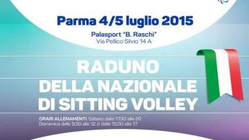 Raduno Nazionale Italiana Maschile di Sitting Volley