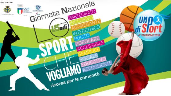 Lo sport che vogliamo, 1° edizione nazionale e 4° tappa di Un Po di Sport
