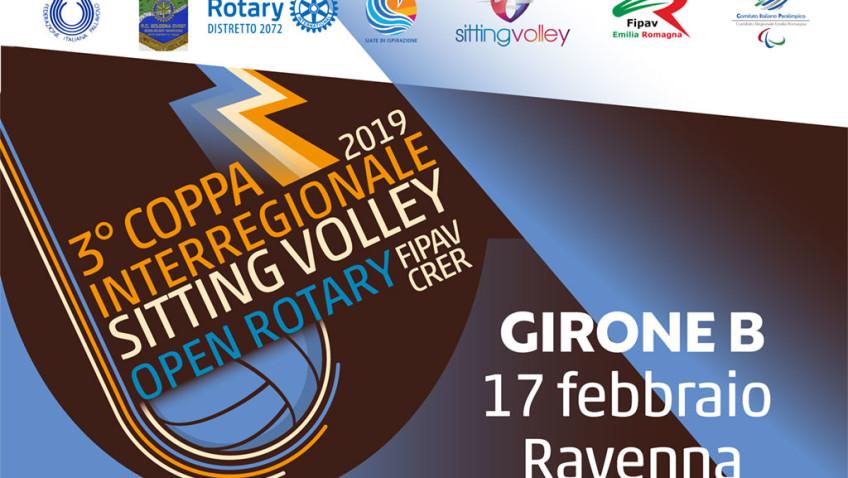 A Ravenna il girone B della coppa Open Rotary Fipav Crer. DIRETTA VIDEO domenica 17 febbraio dalle 12